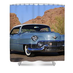 1954 Cadillac Coupe Deville Shower Curtain by Jill Reger