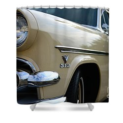 1954 Ford Customline Front End Shower Curtain by Paul Ward