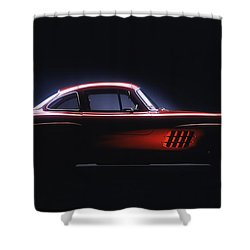 1954 Mercedes 300sl Gullwing Shower Curtain