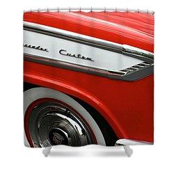 1957 Nash Ambassador Custom Shower Curtain by Gordon Dean II