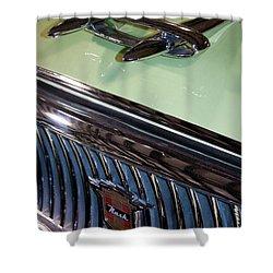 1957 Nash Statesman Super Shower Curtain by David Patterson