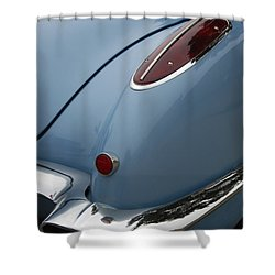 1958 Corvette Shower Curtain