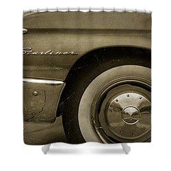 1961 Ford Starliner Shower Curtain by Gordon Dean II