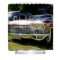 1962 Caddy Cadillac Shower Curtain by Paul Ward