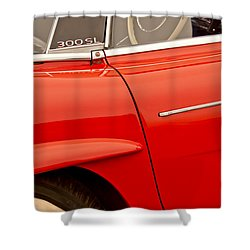 1962 Mercedes-benz 300 Sl Roadster Shower Curtain by Jill Reger