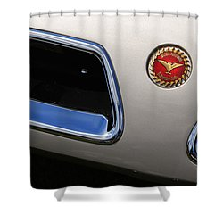 1966 Bizzarini 5300 Spyder Shower Curtain by Gordon Dean II