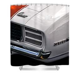 1969 Chevrolet Camaro Indianapolis 500 Pace Car Shower Curtain by Gordon Dean II