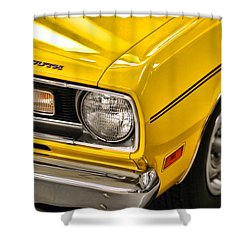 1970 Plymouth Duster 340 Shower Curtain by Gordon Dean II