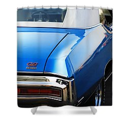 Shower Curtain featuring the photograph 1971 Buick Gs by Gordon Dean II
