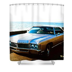1971 Chevrolet Impala Convertible Shower Curtain
