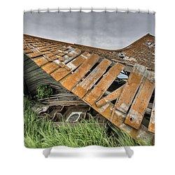 Abandoned Farm Shower Curtain by Mark Duffy