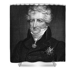 Baron Georges Cuvier Shower Curtain by Granger