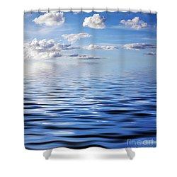 Blue Sky Shower Curtain by Kati Molin