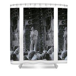 Bob Weir Grateful Dead 74 Dsm Ia Shower Curtain