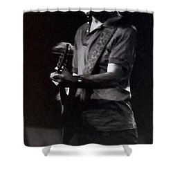 Shower Curtain featuring the photograph Bob Weir Of The Grateful Dead by Susan Carella