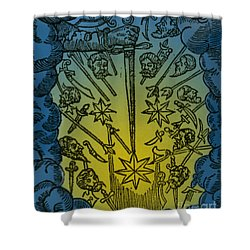 Comet, 1665 Shower Curtain by Science Source