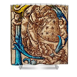 Creation, Giunta Pontificale, 1520 Shower Curtain by Science Source