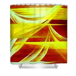 Departure Shower Curtain
