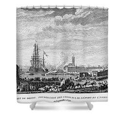 French Revolution, 1790 Shower Curtain by Granger