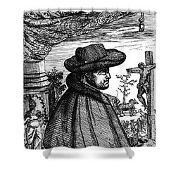 Frère Jacques Beaulieu, French Shower Curtain by Science Source