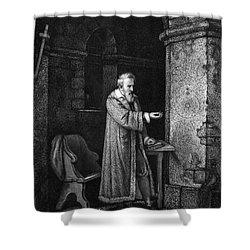 Galileo Galilei (1564-1642) Shower Curtain by Granger