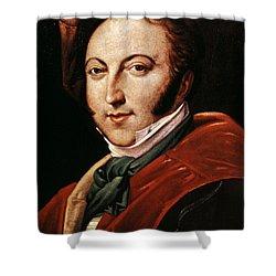 Gioacchino Rossini Shower Curtain by Granger