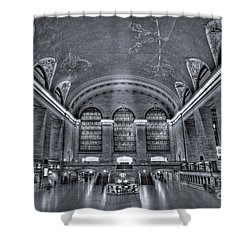 Grand Central Station Shower Curtain by Susan Candelario