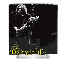 Shower Curtain featuring the photograph Grateful Dead  by Susan Carella