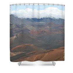 Haleakala Volcano Maui Hawaii Shower Curtain by Sharon Mau