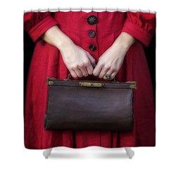 Handbag Shower Curtain by Joana Kruse