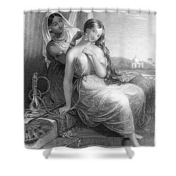 Harem Shower Curtain by Granger