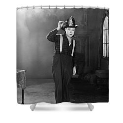 Harry Philmore Langdon Shower Curtain by Granger
