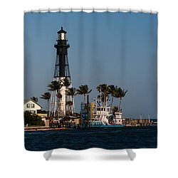 Hillsboro Inlet Lighthouse Shower Curtain