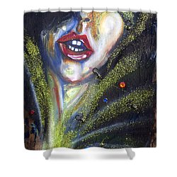Isis Shower Curtain by Sheridan Furrer