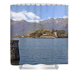 Isola Bella Shower Curtain by Joana Kruse