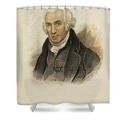 James Watt (1736-1819) Shower Curtain by Granger