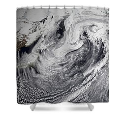 January 2, 2009 - Cloud Simulation Shower Curtain by Stocktrek Images