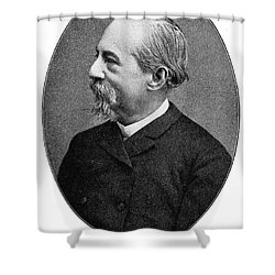 JosÉ Zorrilla Y Moral Shower Curtain by Granger