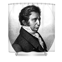 Joseph Gay-lussac, French Chemist Shower Curtain by Science Source