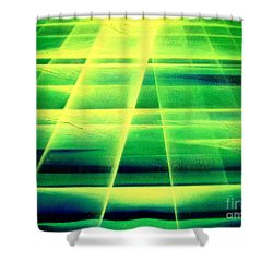 Light Sea Shower Curtain