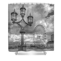 London Eye Shower Curtain