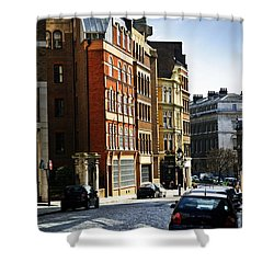 London Street Shower Curtain by Elena Elisseeva