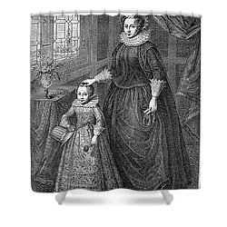 Mary, Queen Of Scots Shower Curtain by Granger