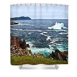 Melting Iceberg Shower Curtain by Elena Elisseeva