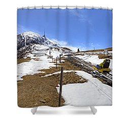 Monte Tamaro - Alpe Foppa - Ticino - Switzerland Shower Curtain by Joana Kruse