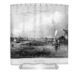 Netherlands: The Hague Shower Curtain by Granger