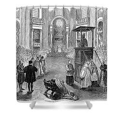 Pope Pius Ix (1792-1878) Shower Curtain by Granger