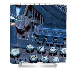 Shower Curtain featuring the photograph Remington 11 Detail by Kay Lovingood