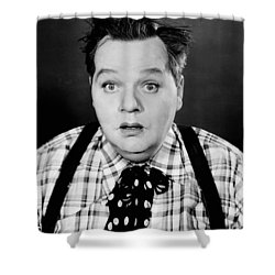 Roscoe Fatty Arbuckle Shower Curtain by Granger