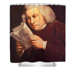 Samuel Johnson, English Author Shower Curtain by Photo Researchers